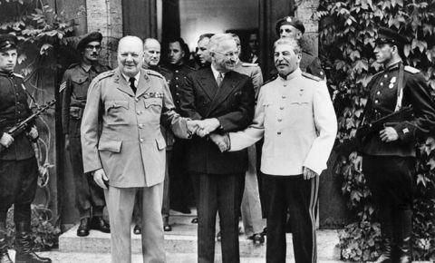 Последняя встреча Большой Тройки
