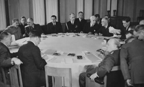 Крымская (Ялтинская) конференция (4–11 февраля 1945 года)
