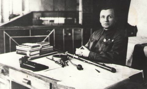 Создатель пистолёта-пулемёта ППШ Георгий Шпагин