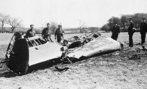 Как Рудольф Гесс улетел в Великобританию из Третьего рейха в 1941 году