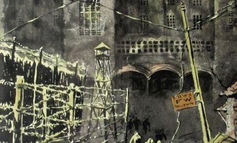 В Музее Победы пройдет выставка фронтовых рисунков Владимира Саушина «Война глазами художника»