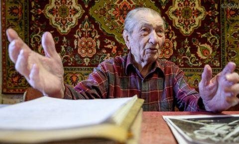 Ветеран Алексей Кужильный вспоминает войну