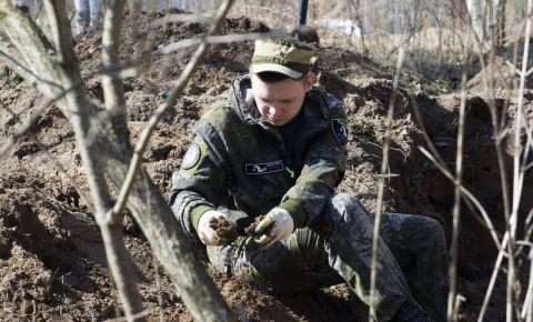 Экспедиция «Ржев. Калининский фронт»: обнаружено 16 солдатских медальонов