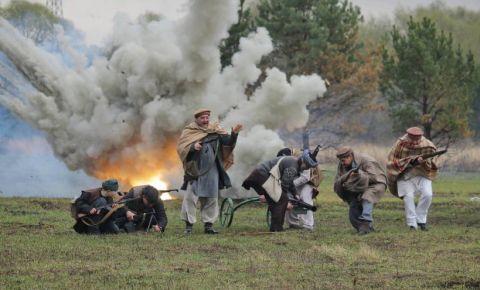 В Подмосковье прошёл военно-исторический фестиваль «Рубеж обороны»