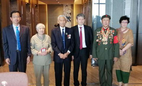 В Харбине состоялась торжественная церемония вручения юбилейных медалей