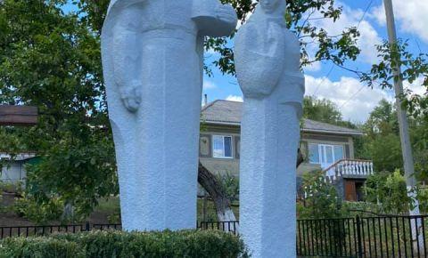 В молдавском селе восстановлен памятник героям Великой Отечественной войны