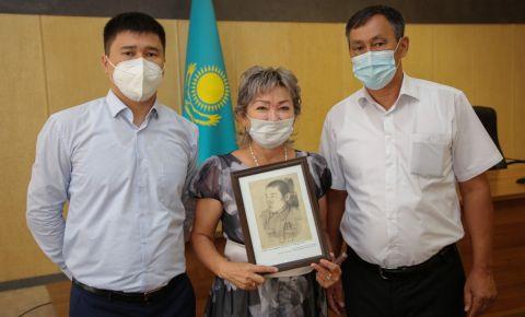 Спустя 75 лет родные получили изображение своего Героя