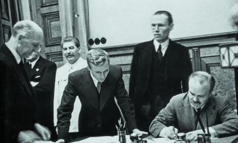 Today marks the 82nd anniversary of the signing of the Treaty of Non-Aggression between Germany and the USSR