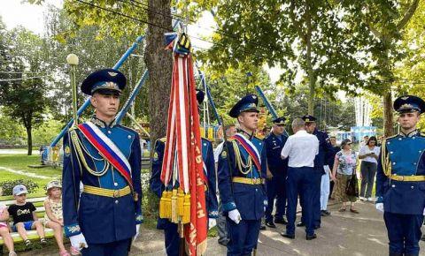 Краснодару передали боевое знамя времён Великой Отечественной войны