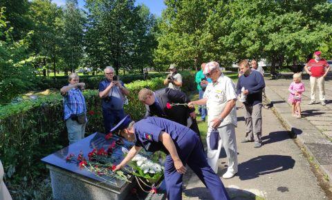В Каунасе прошли памятные мероприятия в день освобождения города от немецко-фашистских захватчиков