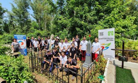 Второй год в Северной Осетии проходит акция «Чистый обелиск»
