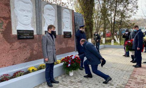 В молдавском селе Ермоклия восстановили памятник солдатам Великой Отечественной войны