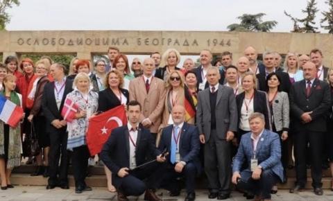 Международные координаторы движения Бессмертный полк прощаются с Василием Семеновичем Лановым