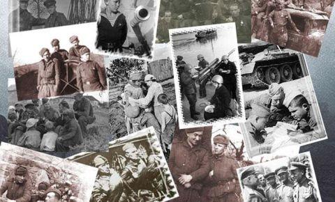 Мемориальная церемония изъятия земли из захоронений советских солдат