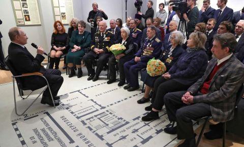 Представители «БПР» задали Путину вопросы о поддержке фронтовиков и тружеников тыла и работе с архивными документами