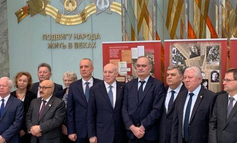 Посол России в РБ выступил с речью на мемориальном мероприятии к Международному дню памяти жертв Холокоста