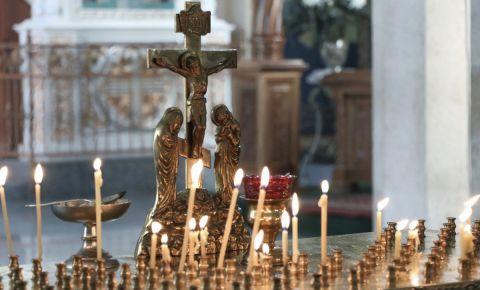 В Свято-Воскресенском кафедральном соборе прошла панихида по погибшим воинам и блокадникам Ленинграда