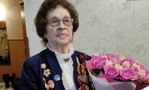 Ветеран войны Мария Бондарук отмечает 100-летний юбилей
