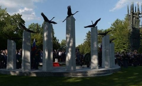 В Словении неизвестными был потушен Вечный огонь у памятника погибшим сынам России
