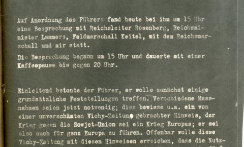 80 лет назад были определены цели Германии в войне с СССР