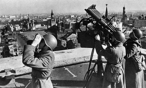 80 лет назад началась воздушная битва за Москву