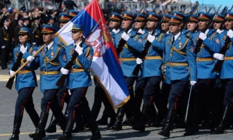 В параде Победы в Москве примут участие 75 сербских солдат и офицеров