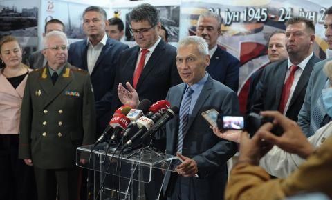Посол России в Сербии посетил выставку посвященную Второй мировой войне