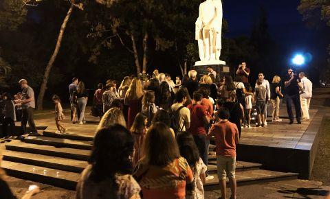 В Абхазии у Памятника Неизвестному солдату прошла акция «Свеча Памяти»