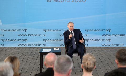 Путин поддержал идею присвоить жителям осажденного Севастополя статус ветеранов