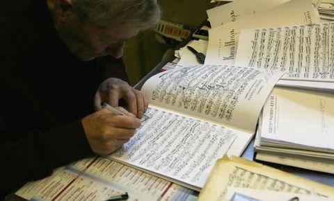 На Урале к 75-летию Победы оцифровали коллекцию нот времен войны