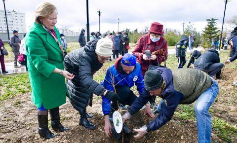 В Севастополе высадили «Сад памяти», посвященный Василию Лановому