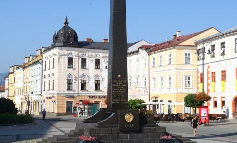 25 марта 1944 года Красная Армия освободила Банска-Быстрицу