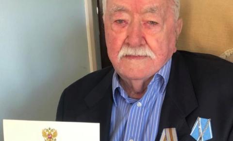 Сongratulations «Arctic Convoys» veteran Geoffrey Conner