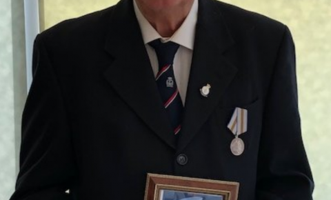 Congratulations «Arctic Convoys» veteran Reg Young
