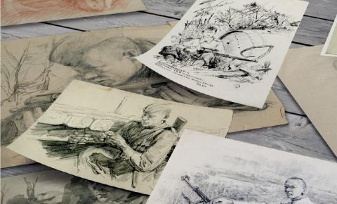 Выставка Музея Победы «Фронтовой портрет. Судьба солдата»