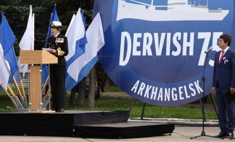 Британская Принцесса Анна выразила признательность ветеранам арктических конвоев