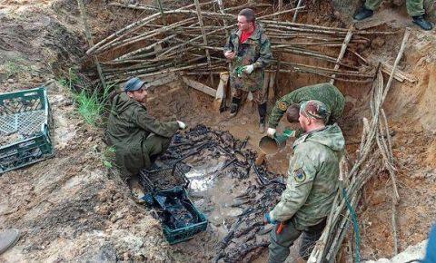 Поисковая экспедиция на месте концлагеря «Дулаг-142» началась в Брянской области