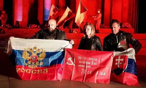 В Братиславе зажгли Вечный огонь в память о красноармейцах – освободителях Словакии