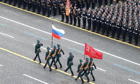 В Москве прошел военный парад в честь 76-й годовщины Победы в Великой Отечественной войне