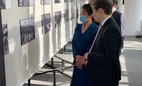 В Харбине открылась фотовыставка, посвящённая 75-й годовщине окончания Второй мировой войны и Победе над милитаристской Япониейй