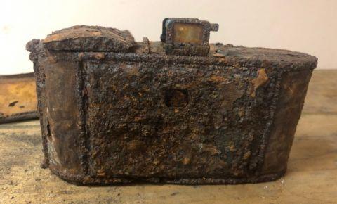 Найден фотоаппарат участника Сталинградской битвы