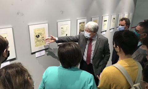 В Национальном музее Республики Казахстан состоялось открытие выставки «Уроки Нюрнберга: чтобы помнили»