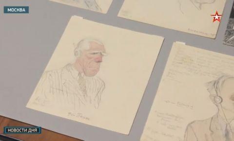 Карикатуры группы «Кукрыниксы» выложены в Музее Победы