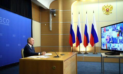 Президент России в своем выступлении на заседании Совета ШОС, почтил память народов спасших мир от нацизма
