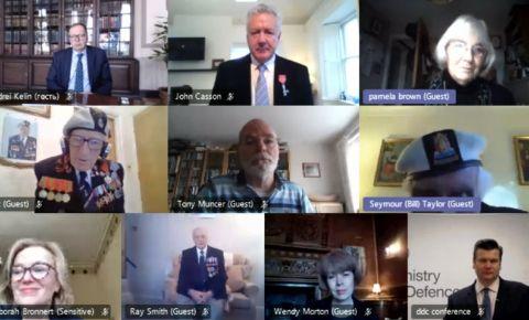 Посол России в Великобритании Андрей Келин выступил с обращением к участникам онлайн-конференции посвященной ветеранам Арктических конвоев