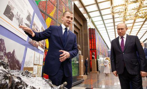 Президент России поздравил участников на церемонии закрытия национальной акции «Вахта Памяти»