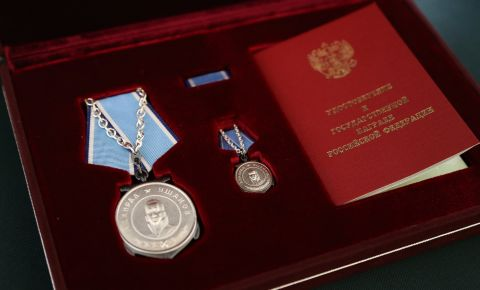 American citizens awarded the Medal of Ushakov