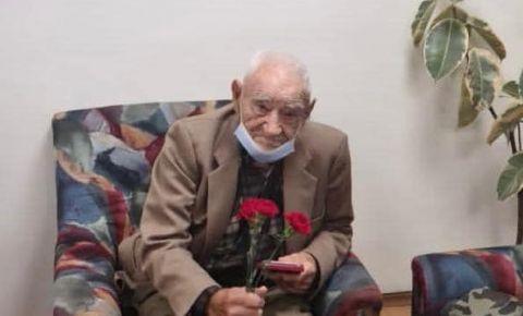 Трём болгарским ветеранам вручили юбилейные медали «75 лет Победы в Великой Отечественной войне 1941-1945 гг»