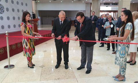 В Таджикистане открылась выставка «Никто не забыт, ничто не забыто», посвященная 75-летию Победы в Великой Отечественной Войне