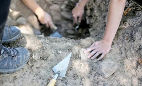 В Курской области завершили работы на месте захоронения красноармейцев